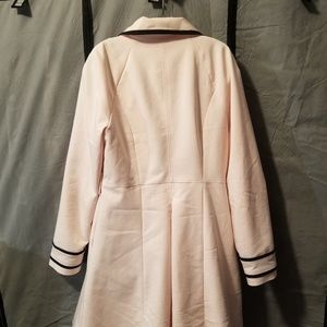 Elle Jackets & Coats - Elle Soft Pink Trench Coat